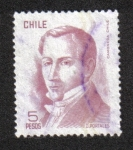 Stamps Chile -  Diego Portales
