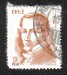 Sellos de America - Chile -  Diego Portales (1793-1837), Politician