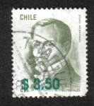 Stamps Chile -  Diego Portales (1793-1837), Politician