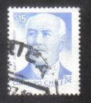 Sellos de America - Chile -  Juan Luis Sanfuentes