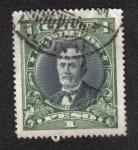 Sellos de America - Chile -  Aníbal Pinto (1825-1884)