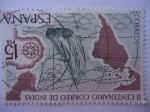 Stamps Spain -  Ed:2437- II Centenario Correo de Indias.