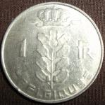 monedas de Europa - Bélgica -  1977 (Reverso)
