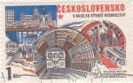 Sellos de Europa - Checoslovaquia -  30 aniversario del metro