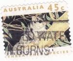 Stamps Australia -  mustelido