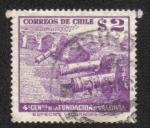 Sellos de America - Chile -  400 Aniversario de la fundación de Valdivia
