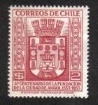 Sellos de America - Chile -  400 Aniversario de la fundación de Angol