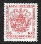 Stamps Chile -  400 Aniversario de la fundación de Osorno