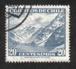 Sellos de America - Chile -  Laguna del Inca