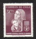 Sellos del Mundo : America : Chile : Campaña Mundial Contra El Hambre