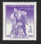 Sellos de America - Chile -  Cuerpo de Bomberos de Santiago