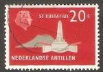 Stamps : America : Netherlands_Antilles :   267 - Monumento al Almirante de Ruyter, en Saint Eustatius