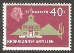 Stamps : America : Netherlands_Antilles :  270 - Casa Colonial, en Saint Maarten