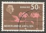Stamps : America : Netherlands_Antilles :  271 - Flamencos rosas, en Bonaire