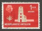 Stamps : America : Netherlands_Antilles :  272 - Torre Guillaume III, en Aruba
