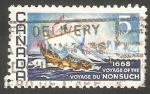 Stamps Canada -   403 - III centº del viaje de Nonsuch