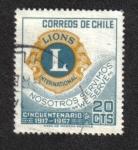 Sellos de America - Chile -  Club De Leones
