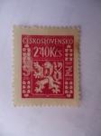 Stamps Czechoslovakia -  ESCUDO (S/156) Ceskoslovenko.