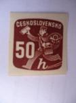 Sellos de Europa - Checoslovaquia -  Cartero. Ceskoslovenko.