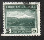 Stamps Chile -  Lago Villarica