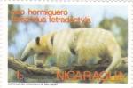 Sellos de America - Nicaragua -  oso hormiguero