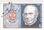 Sellos de Europa - Polonia -  Rowland Hill- creador del primer sello postal