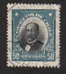 Sellos de America - Chile -  Federico Errázuriz Zańartu (1825-1877)