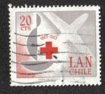 Sellos de America - Chile -  100 años de la Cruz Roja