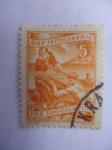 Sellos de Europa - Yugoslavia -  FNR. Jugoslavija. Pescadores.