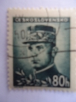 Stamps Czechoslovakia -  Stefánik Rastilav Milan (1880-1919)