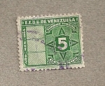 Stamps of the world : Venezuela :  Timbre fiscal