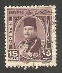 Stamps Egypt -  229 - Rey Farouk
