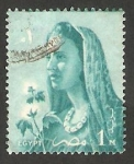 Stamps Egypt -  413 - Campesina