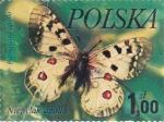 Sellos de Europa - Polonia -  mariposa