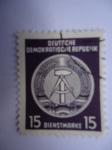 Stamps Germany -  Blason de la RDA