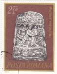 Stamps Romania -  relieve