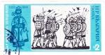 Sellos de Europa - Bulgaria -  ilustración batalla