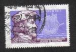 Sellos de America - Chile -  450 Aniversario del descubrimiento del Estrecho de Magallanes