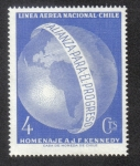 Stamps Chile -  John F. Kennedy