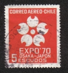 Sellos de America - Chile -  Expo´70 Osaka-Japon