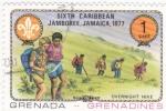 Stamps Grenada -  excursionistas