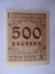 Sellos de Europa - Alemania -  Cifras.