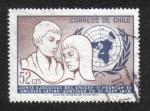 Stamps Chile -  Junta Ejecutiva del UNICEF 1° Reunión en América Latina