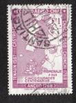 Stamps Chile -  Mapa de la Provincia de Chiloe