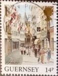 Sellos de Europa - Reino Unido -  Intercambio cxrf 0,20 usd 14 p. 1984