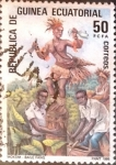 Stamps : Africa : Equatorial_Guinea :  Intercambio 0,20 usd 50 fr. 1986