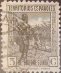 Stamps Spain -  Intercambio jxi 0,20 usd 5 cents. 1931