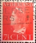 Stamps Netherlands -  Intercambio crxf 0,20 usd 7,5 cents. 1940