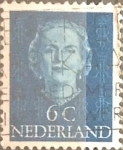 Sellos de Europa - Holanda -  Intercambio 0,20 usd 6 cents. 1949