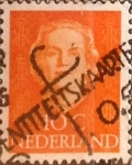 Stamps : Europe : Netherlands :  Intercambio 0,20 usd 10 cents. 1949